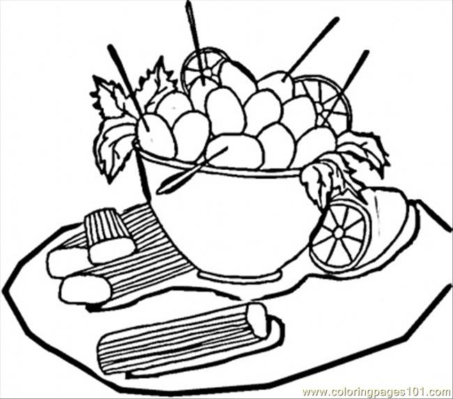 Olives From Italy Coloring Page