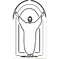 Pope John Paul Ii coloring page