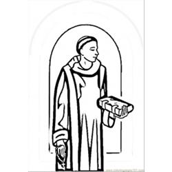Pope John Xxii Free Coloring Page for Kids