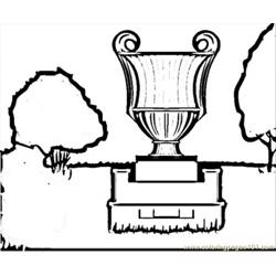 Old Vase Free Coloring Page for Kids