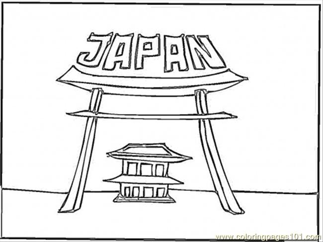 japan coloring page free japan coloring pages coloringpages101 com