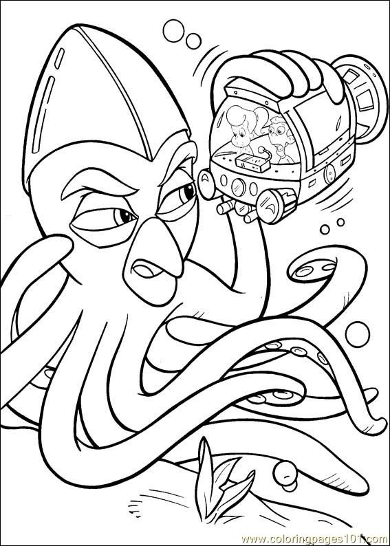 Jimmy Neutron 38 Coloring Page