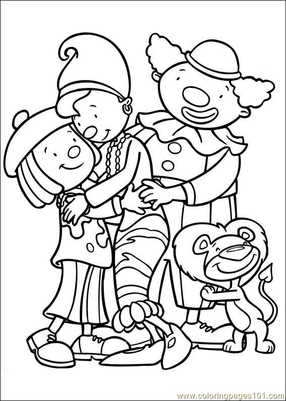 Coloring Pages Jojo : Jojo circus coloring page free s