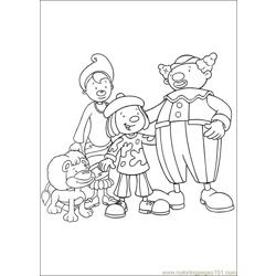 Jojo Circus 39 Free Coloring Page for Kids