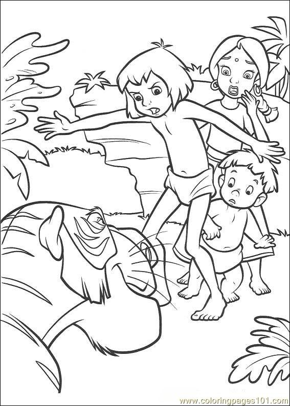 Jungle Book 2 18 Coloring Page