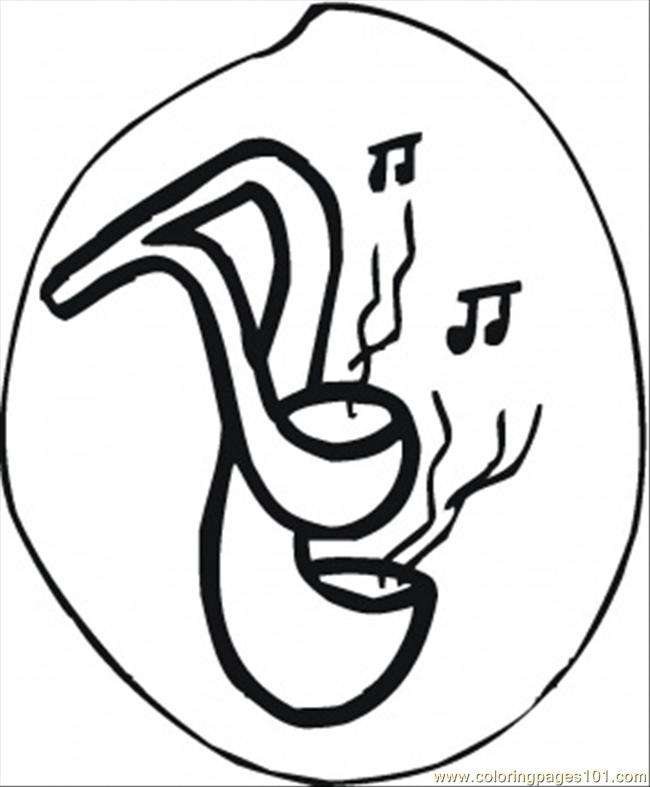 Musical Ladles Coloring Page