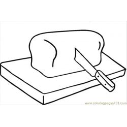 Bread On Cutting Board