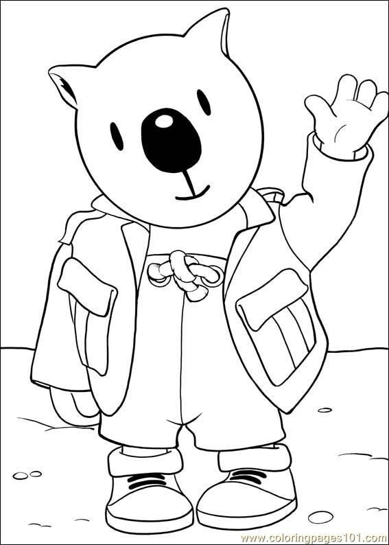 Koala Brothers 02 Coloring Page