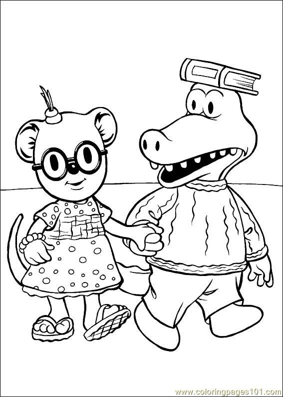 Koala Brothers 20 Coloring Page