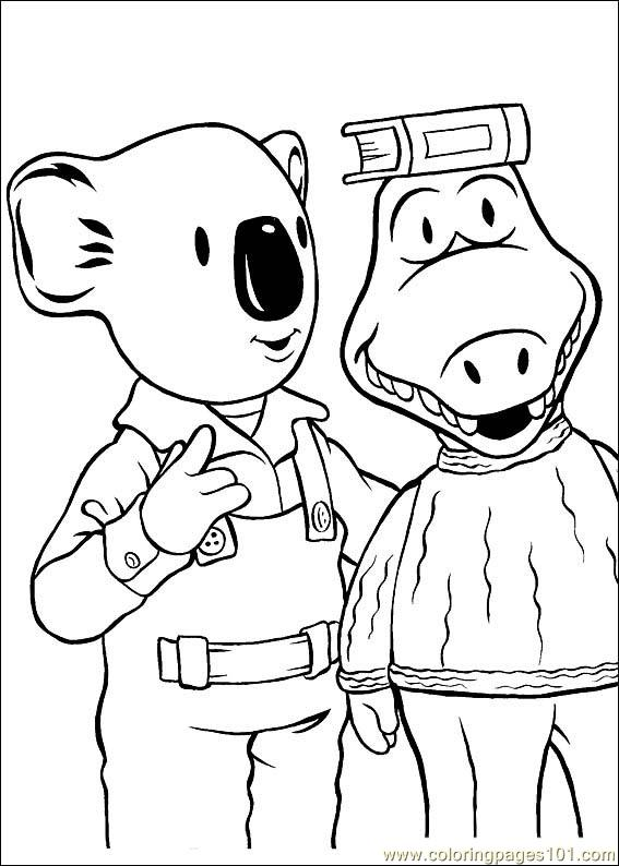 Koala Brothers 21 Coloring Page
