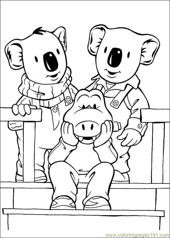 Koala Brothers 28 Coloring Page