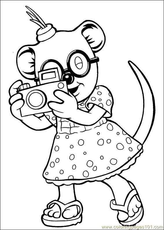 Koala Brothers Coloring Pages