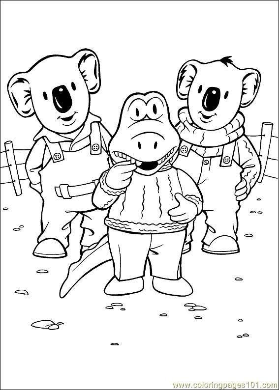 online koala coloring pages - photo#24