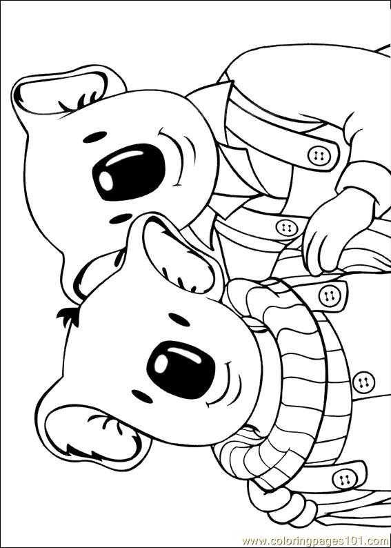 Koala Brothers 31 Coloring Page