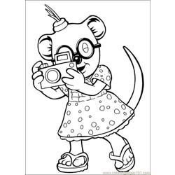 Koala Brothers 29 coloring page
