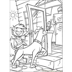 Krypto5 Free Coloring Page for Kids