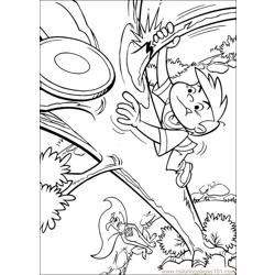 Krypto Superdog 11 Free Coloring Page for Kids