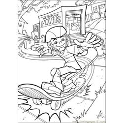 Krypto Superdog 14 Free Coloring Page for Kids