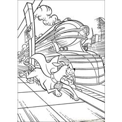 Krypto Superdog 24 Free Coloring Page for Kids
