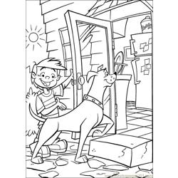 Krypto Superdog 27 Free Coloring Page for Kids