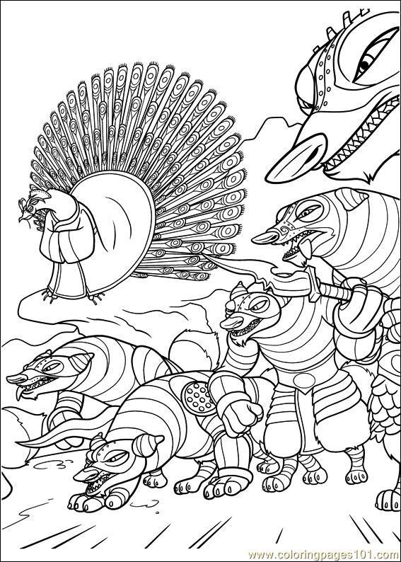 Kung Fu Panda 2 24 Coloring Page - Free Kung Fu Panda Coloring Pages ...