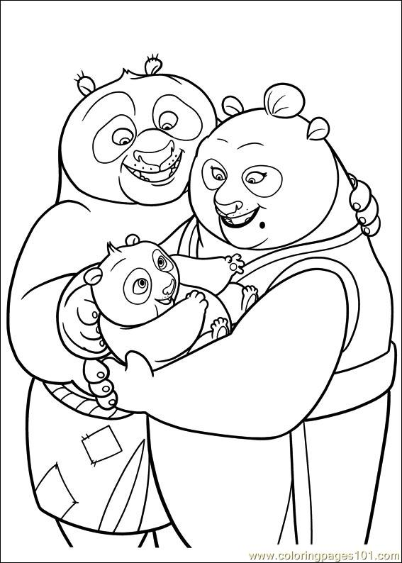 Tai lung ready to fight coloring pages - Hellokids.com | 794x567