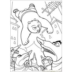 Kung Fu Panda 2 12 Free Coloring Page for Kids
