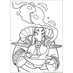 Kung Fu Panda 2 15 Free Coloring Page for Kids