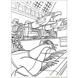 Kung Fu Panda 2 23 Free Coloring Page for Kids