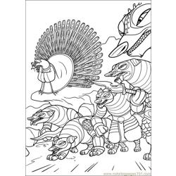 Kung Fu Panda 2 24 Free Coloring Page for Kids