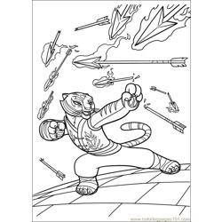 Kung Fu Panda 2 26 Free Coloring Page for Kids