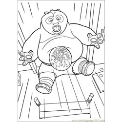 Kung Fu Panda 2 33 Free Coloring Page for Kids