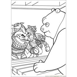Kung Fu Panda 2 34 Free Coloring Page for Kids