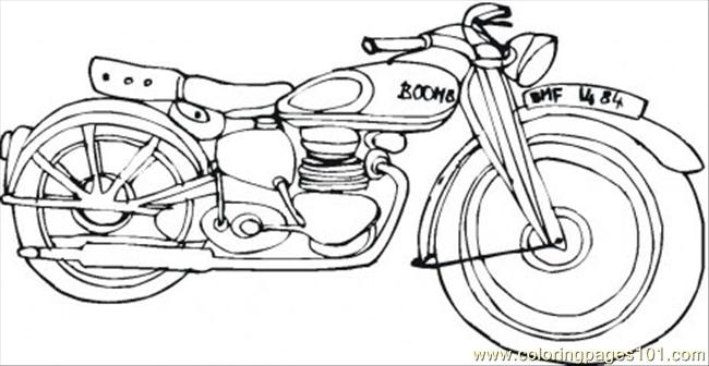 Harley Davidson Coloring Page Coloring Page Free Land