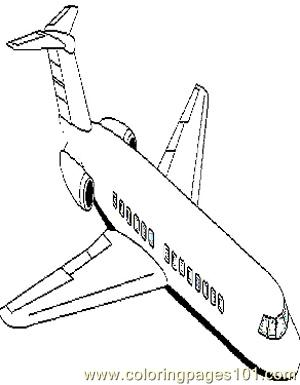 Airplanes (7) Coloring Page
