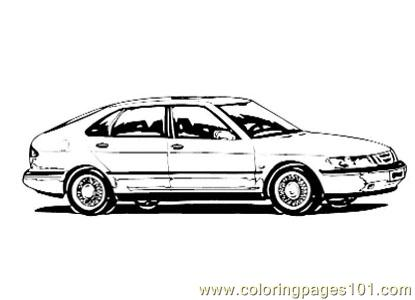 Car011 Coloring Page