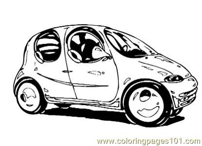 Car048 Coloring Page