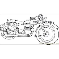 Harley Davidson Coloring Page Free Coloring Page for Kids