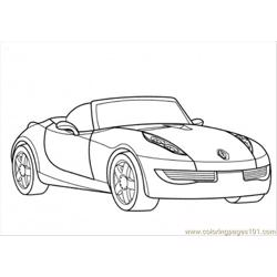 Renault Wind Coloring Page