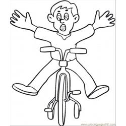 Boy On A Bycicle