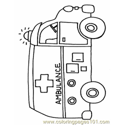 Bus Coloring Page 01