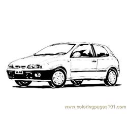 Car014 Free Coloring Page for Kids