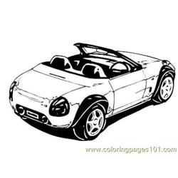 Car044 Free Coloring Page for Kids