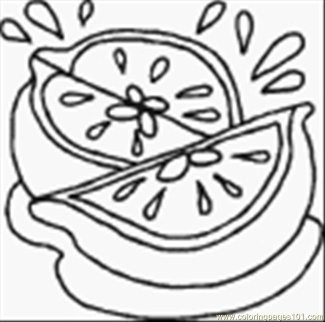 Lemon11 Coloring Page
