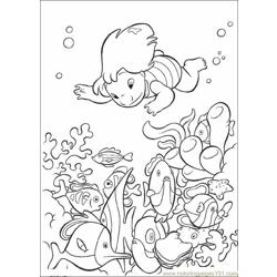 Lilo Stitch04 Free Coloring Page for Kids
