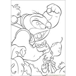 Lilo Stitch10 Free Coloring Page for Kids