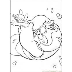 Lilo Stitch16 Free Coloring Page for Kids