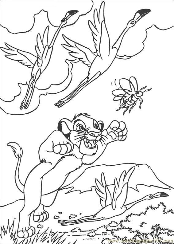 Lionking 28 Coloring Page