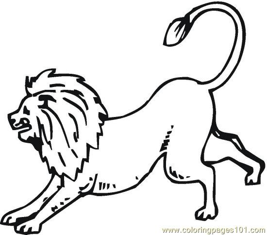 lionsandtigers 9 coloring page color online