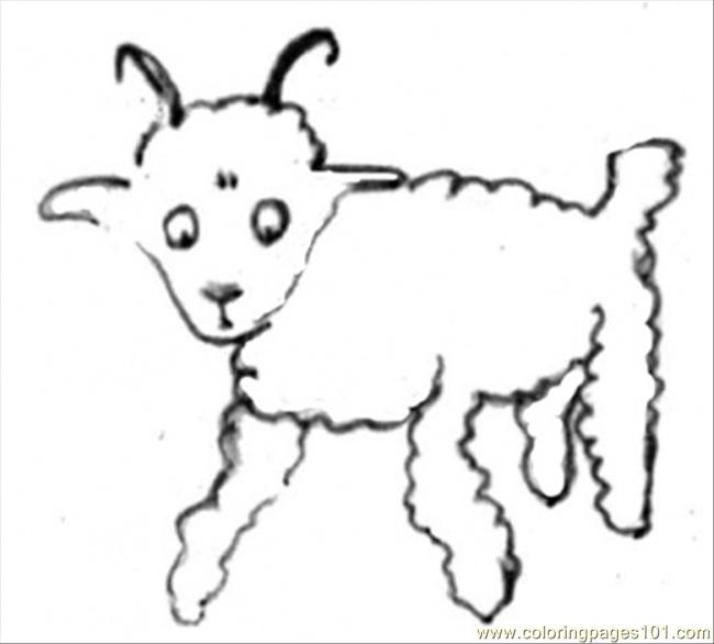 Little Prince Draws A Sheep Coloring Page